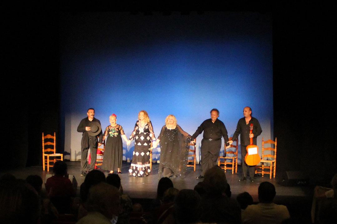 El Teatro Las Lagunas acoge el recital de poesía andaluza del grupo Talía