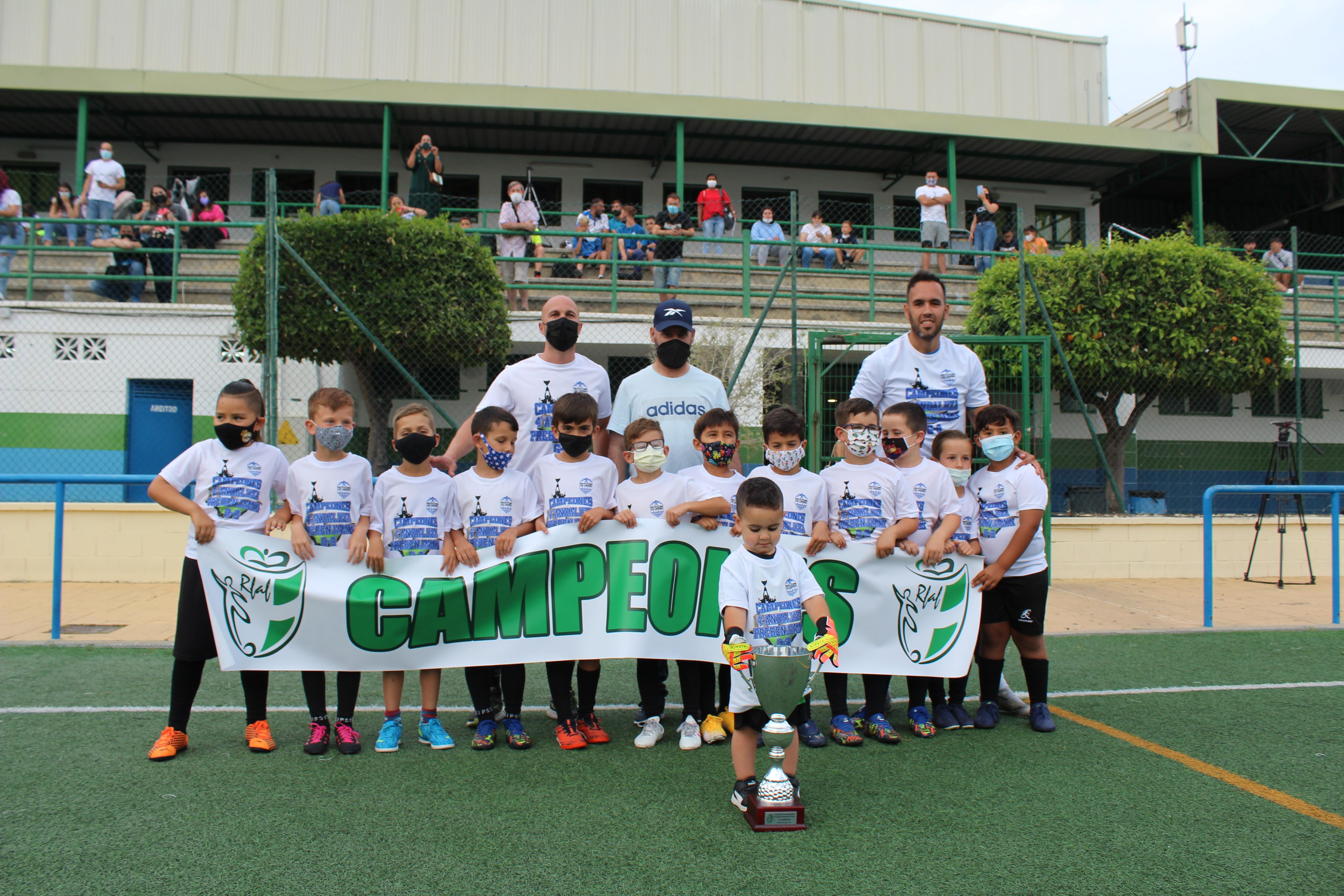 El Club Polideportivo Mijas-Las Lagunas, campeón de la 4ª Andaluza