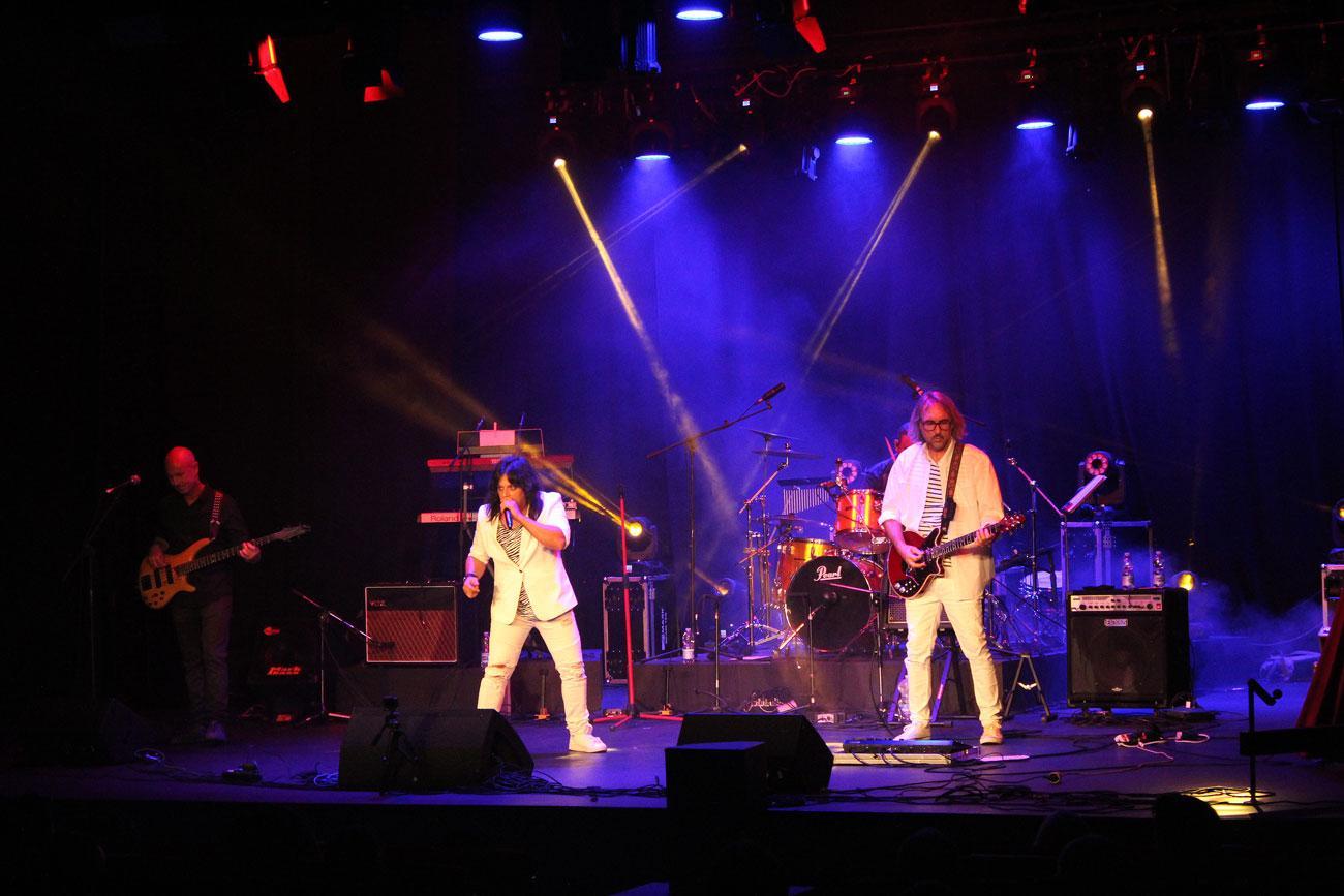 Lo mejor de Queen y la Electric Light Orchestra sonó el sábado en el Teatro Las Lagunas