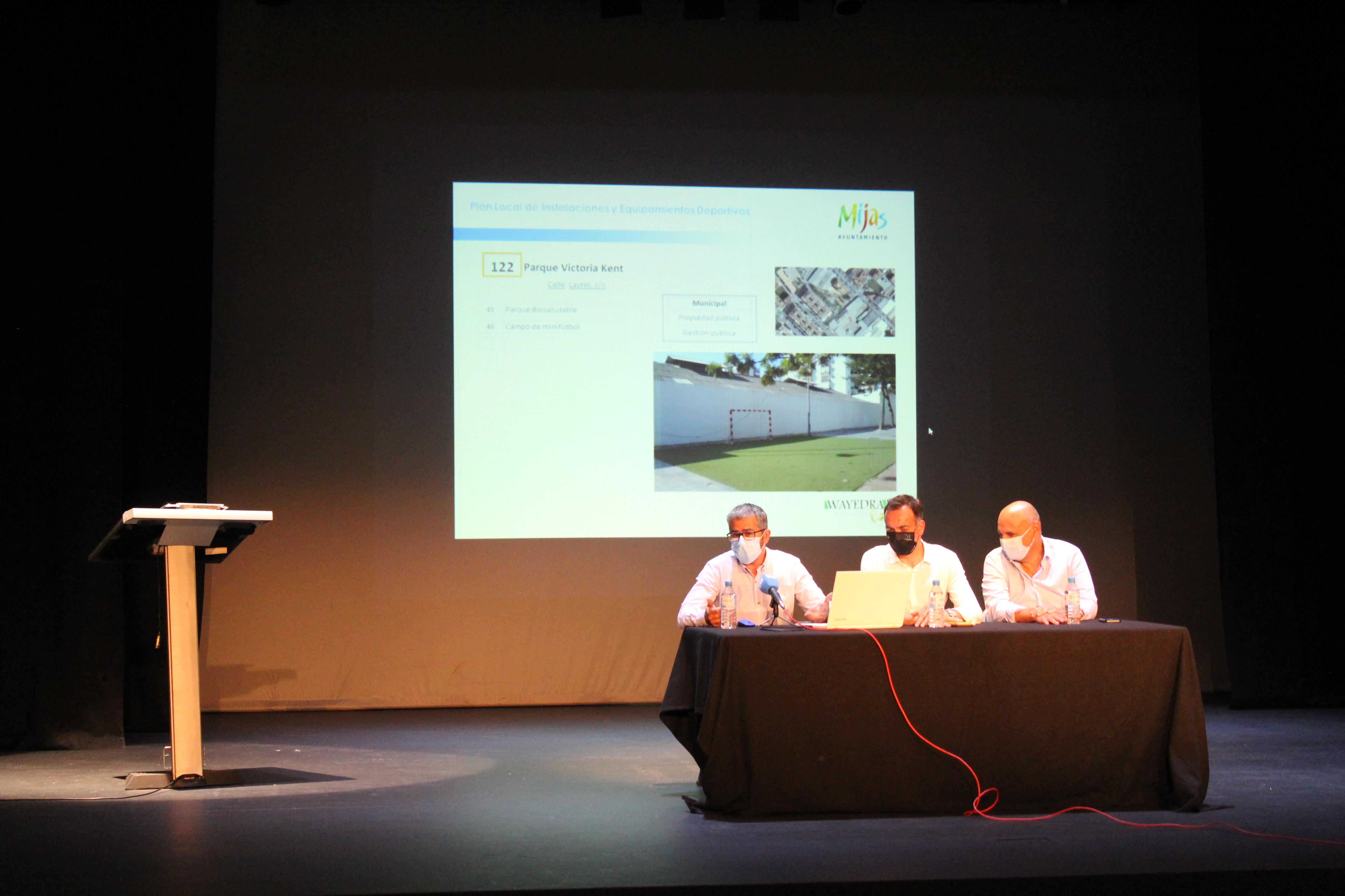 Mijas planifica el futuro de las instalaciones deportivas con un plan local detallado