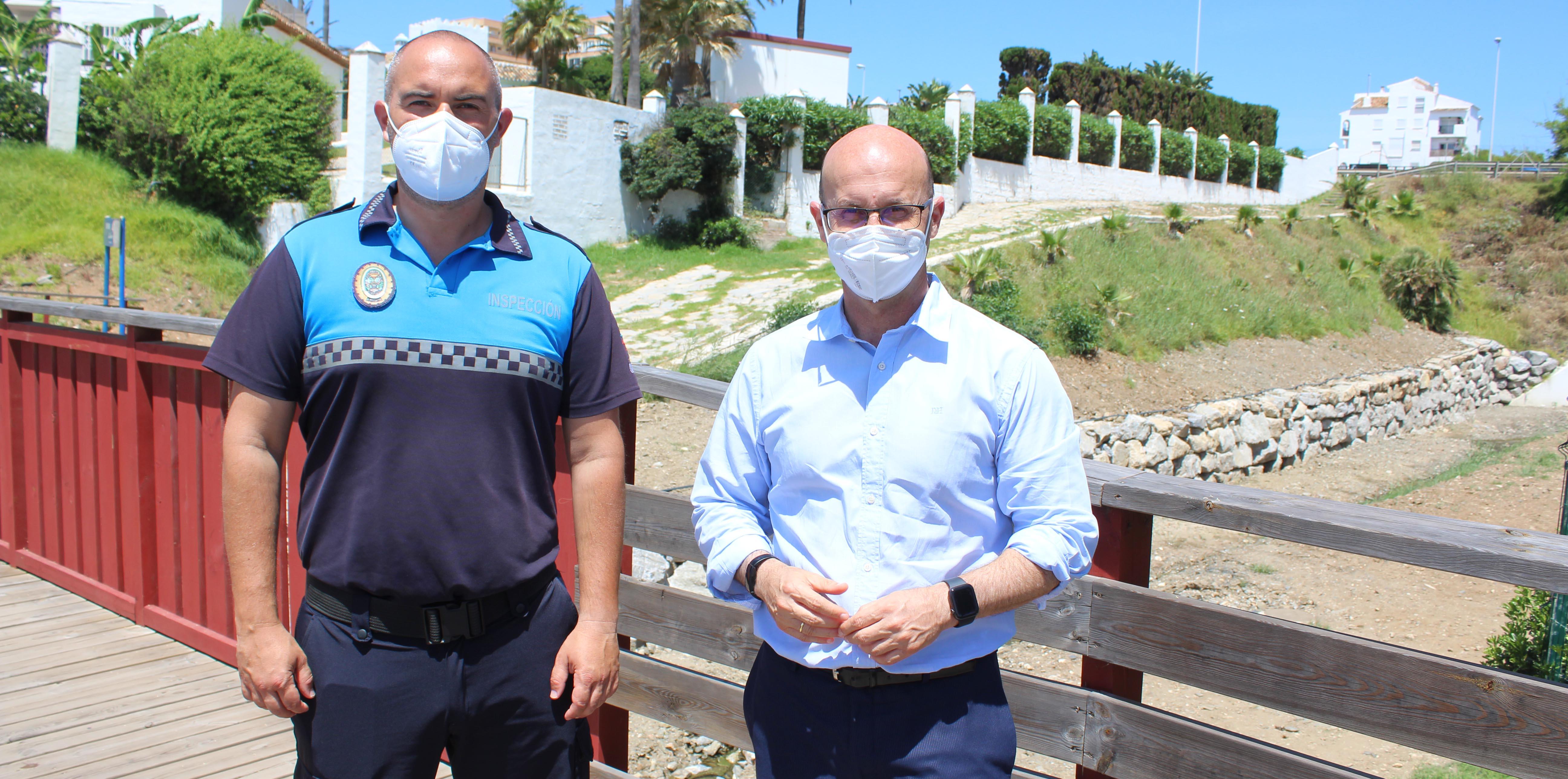 Playas finaliza la construcción de un nuevo muro de escollera en La Lucera