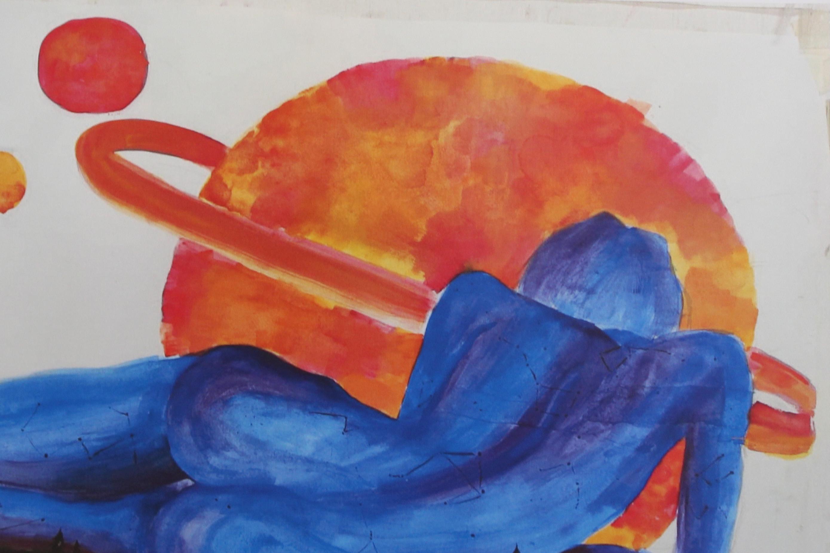 'Se pintan relatos, se relatan cuadros', una exposición de la Universidad Popular de Mijas