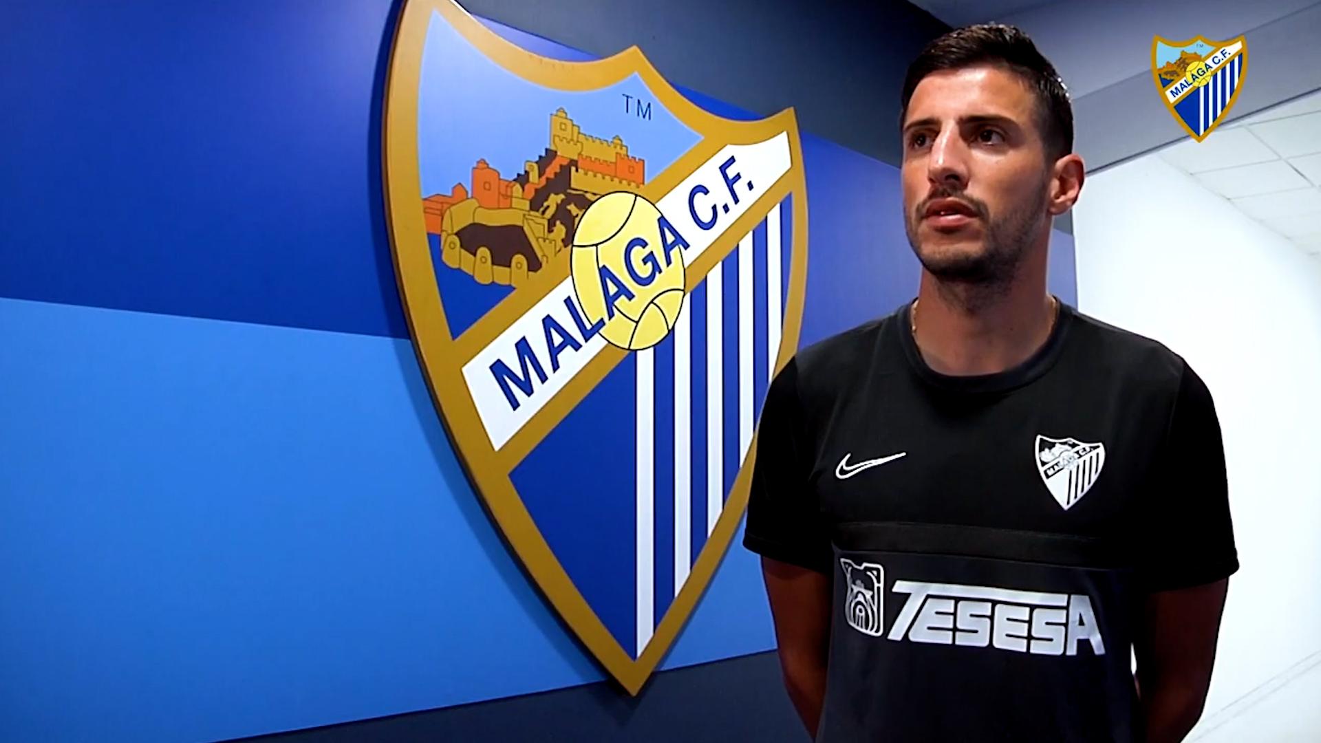 Chavarría renueva por el Málaga CF hasta 2023