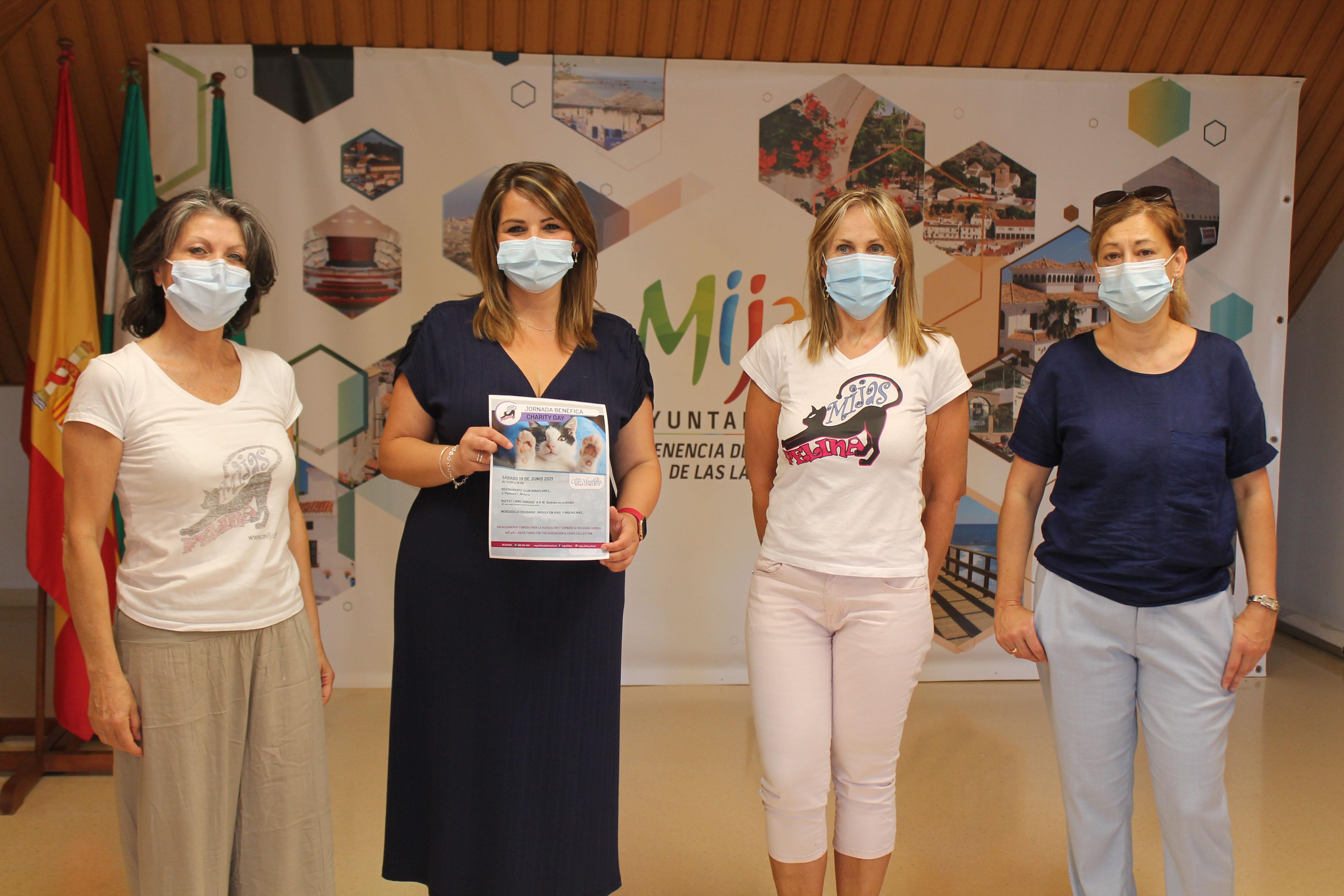 Participación Ciudanda y Mijas Felina presentan un buffet solidario para recaudar fondos