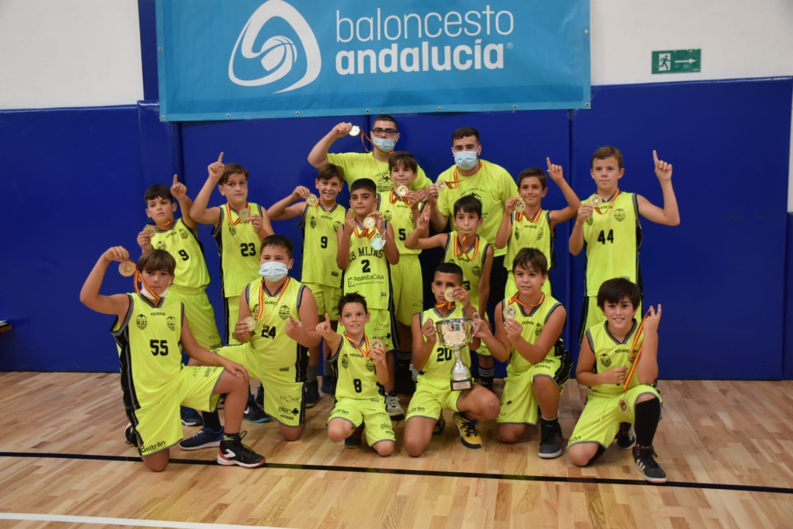 El mini del CP Mijas, campeón de la Copa FAB Oro