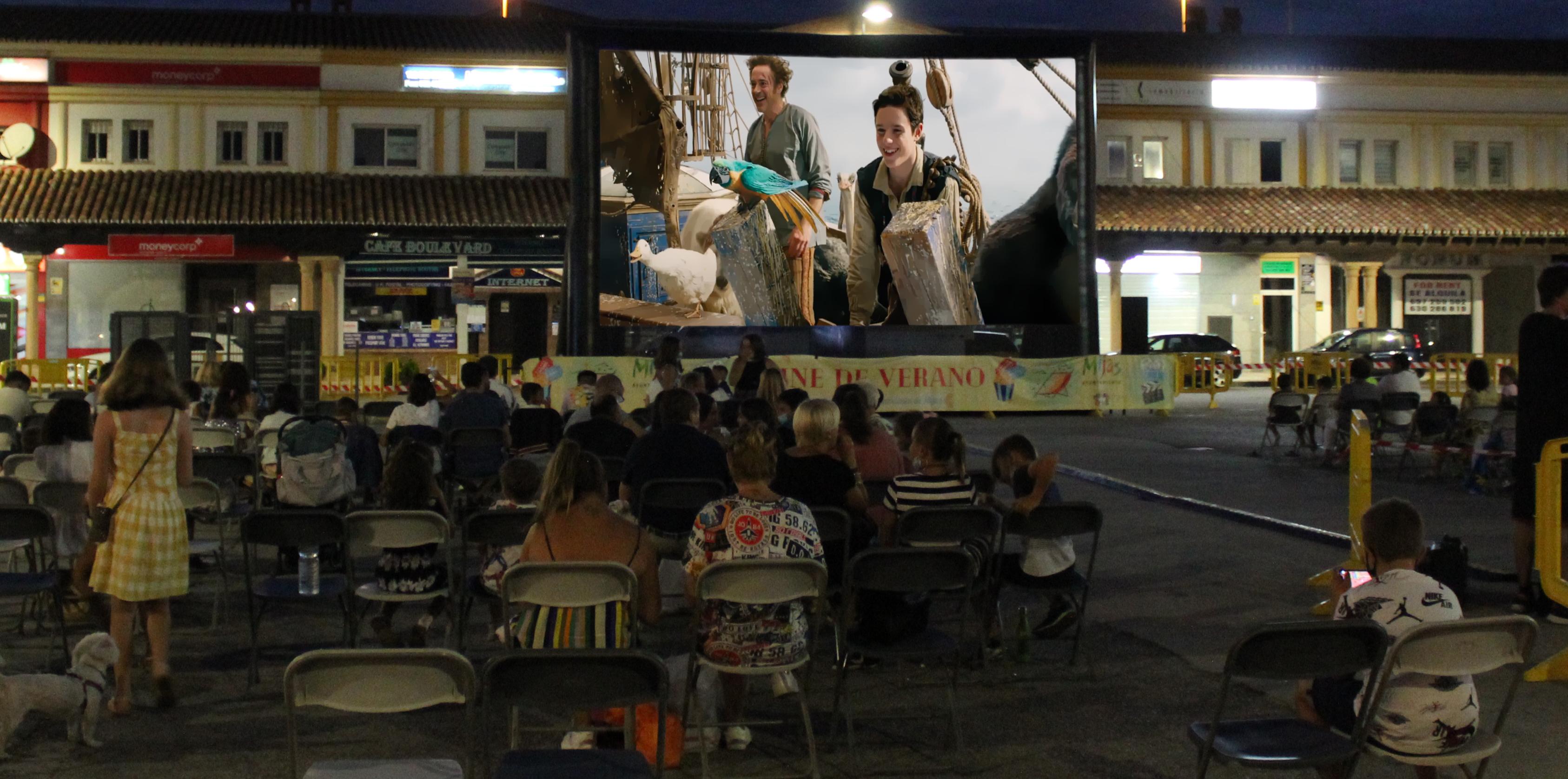 El cine de verano ofrece la segunda sesión en La Cala