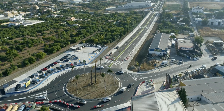 Abierto al tráfico el nuevo vial que une la avenida Miguel Hernández y el Camino de Coín