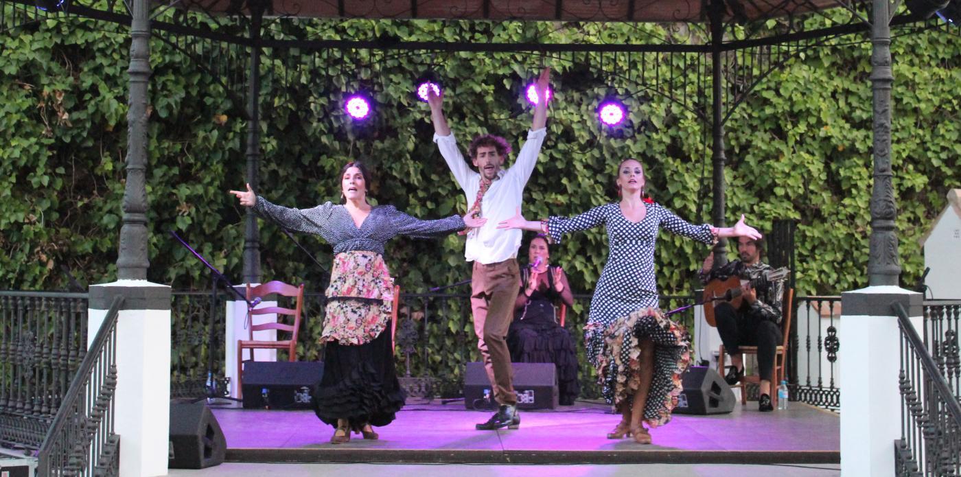 La compañía de Juan Diego Tenorio clausura el ciclo 'Flamenco...al compás'