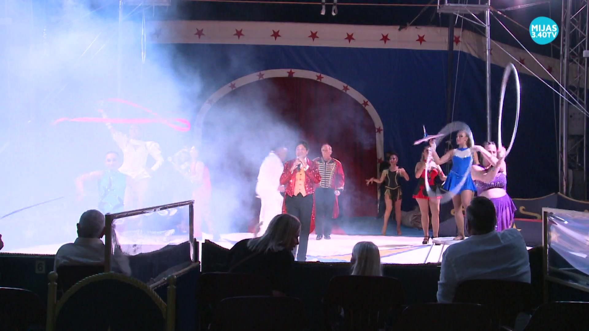 El Circo Berlín aterriza en La Cala con un nuevo espectáculo