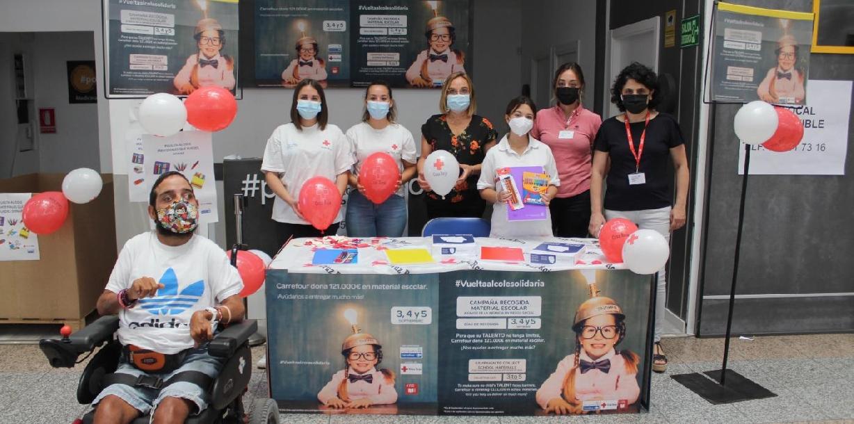 Carrefour y Cruz Roja ponen en marcha la campaña 'Vuelta al cole solidaria'