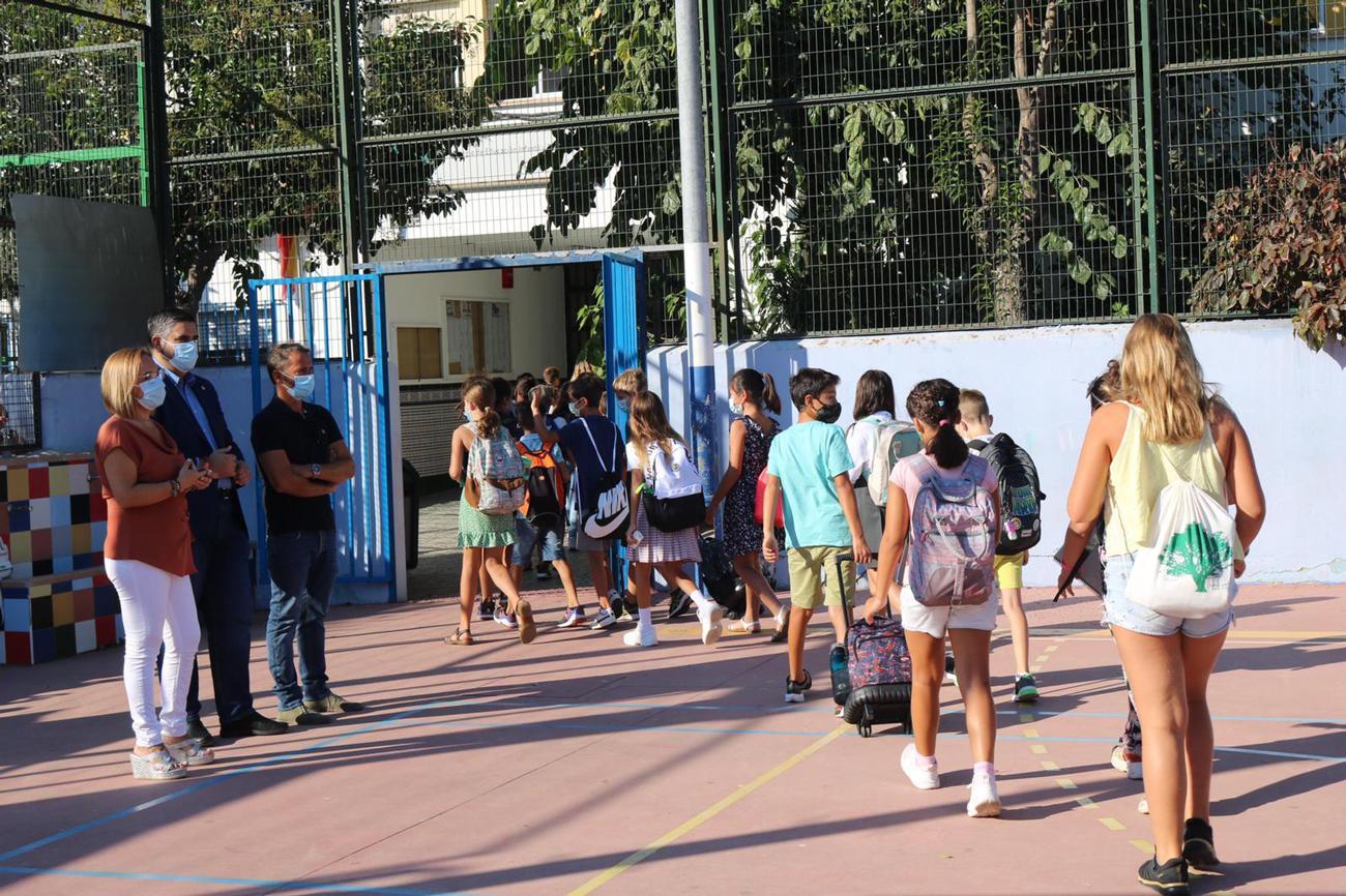 Más de 7.200 alumnos comienzan las clases en Mijas