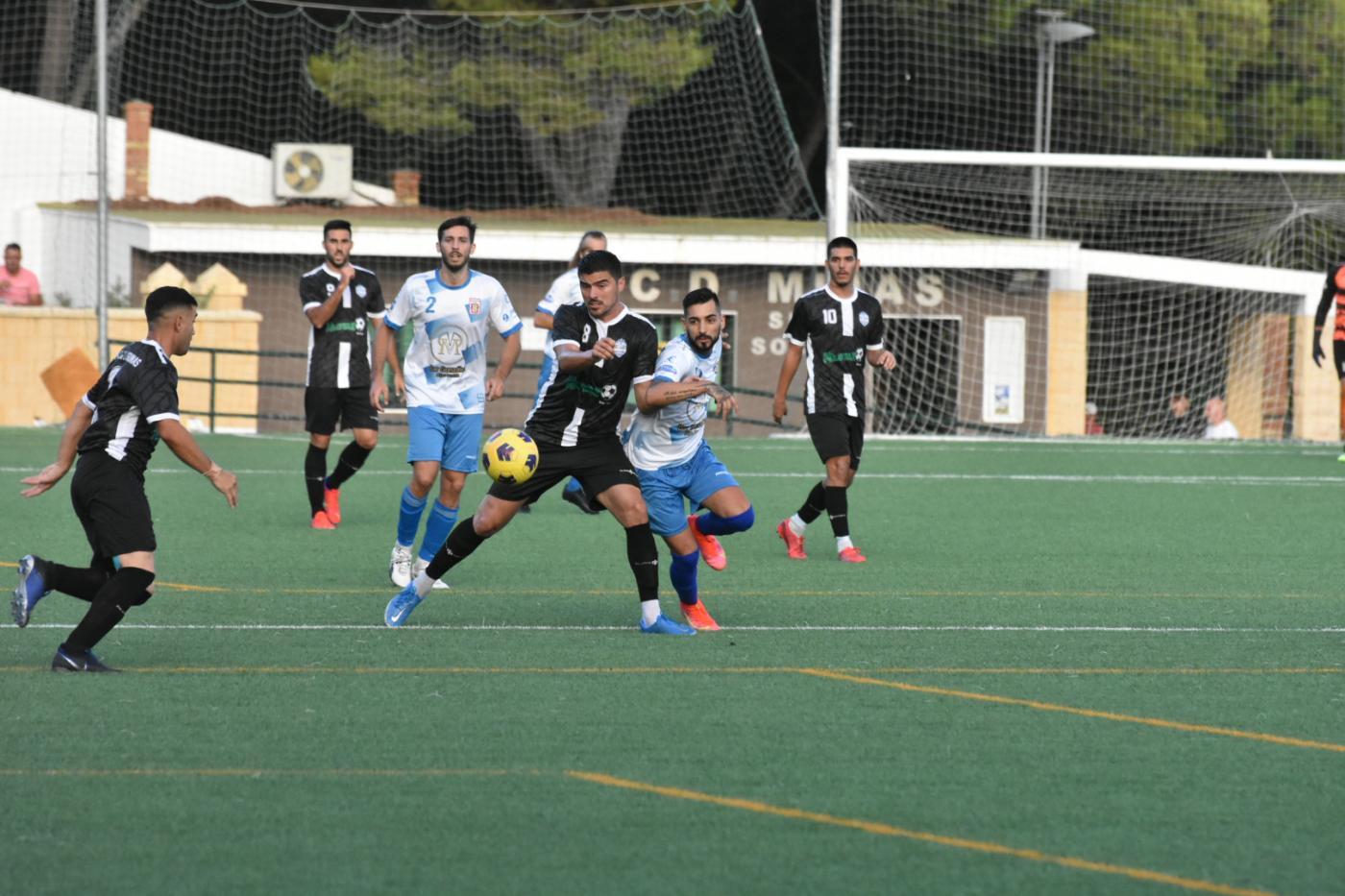 El Polideportivo Mijas-Las Lagunas superó al Mijas en la eliminatoria de Copa de Andalucía