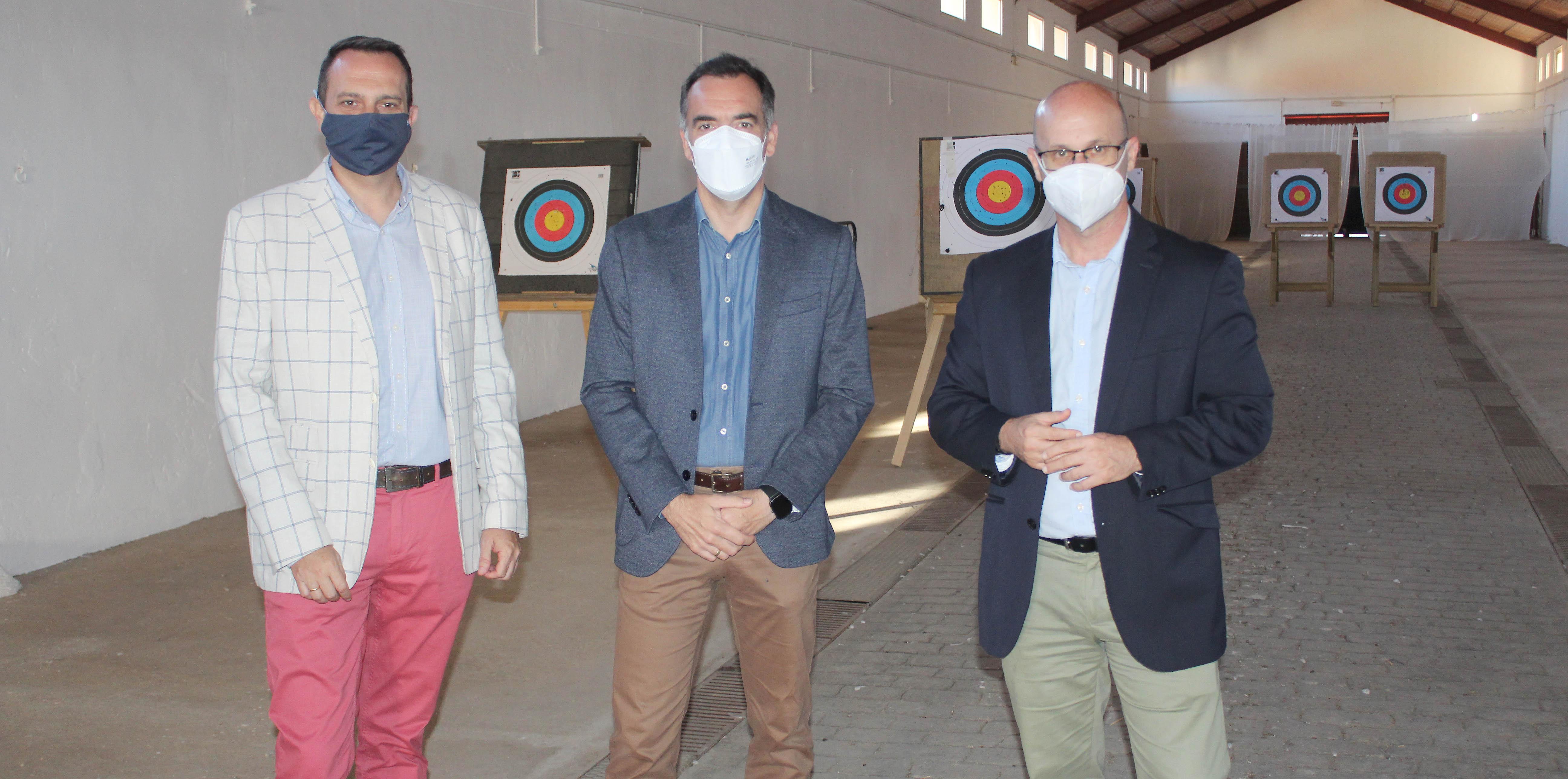 """Mijas habilita en el Hipódromo una galería de tiro con arco de """"primer nivel"""""""