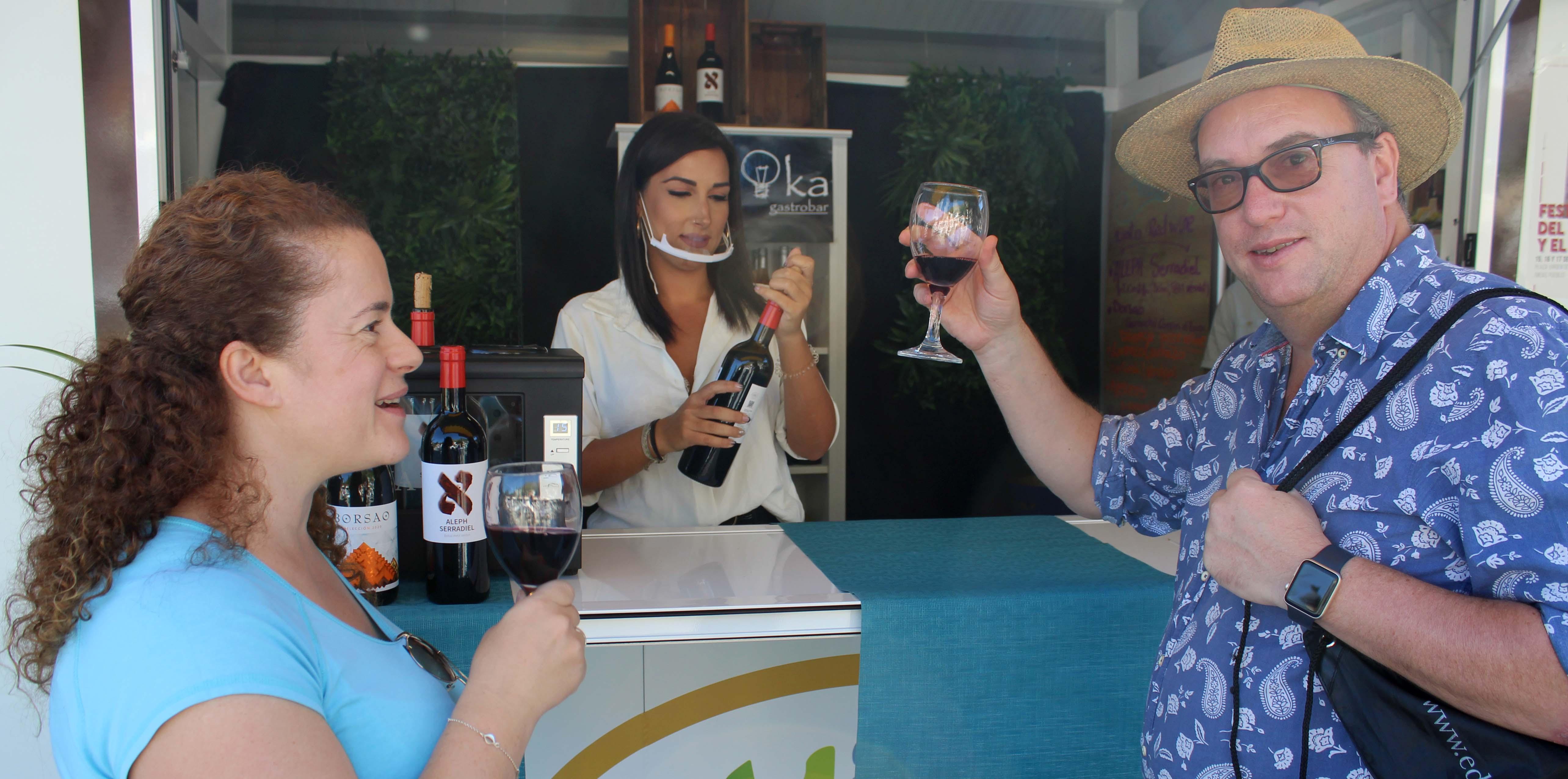 Arranca en Mijas Pueblo el Festival del Vino y el Queso